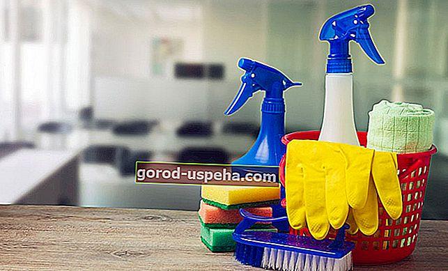 Evdeki her şeyi amonyakla temizleyin