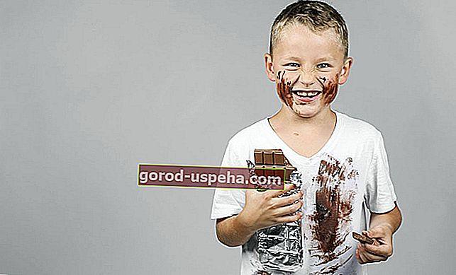 10 savjeta za uklanjanje mrlje od čokolade