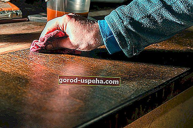 Vzdrževajte in zaščitite svoje lakirano pohištvo z naravnimi izdelki