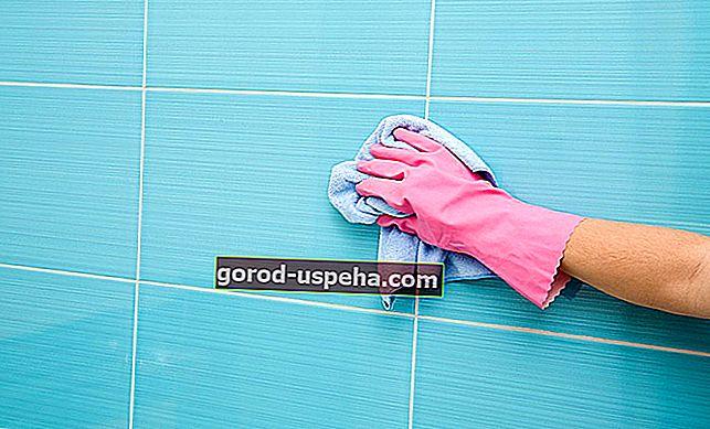 Pravi naravni izdelki za čiščenje ploščic