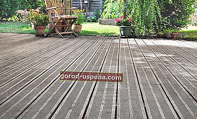4 savjeta za čišćenje drvene palube
