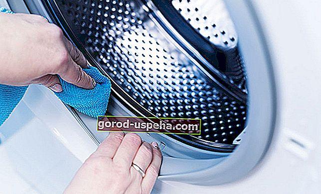 Učinkovite rešitve za čiščenje pralnega stroja