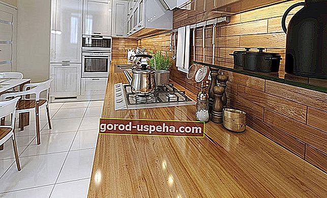 Kako pravilno naoljiti leseno delovno ploščo?