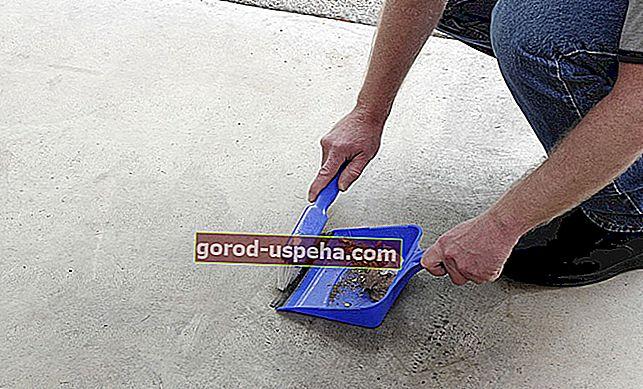 Kako pravilno očistiti tla garaže iz surovega betona?