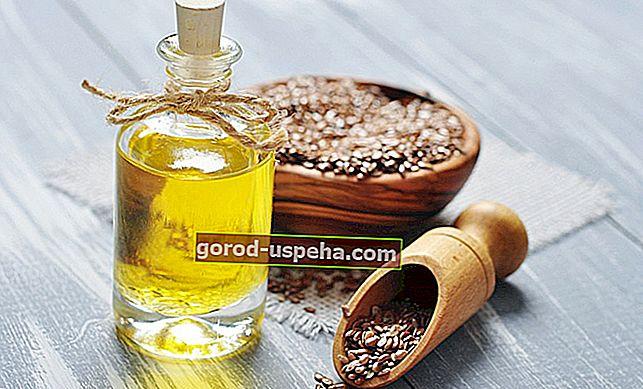 Sve upotrebe lanenog ulja u kući