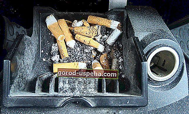 Kako eliminirati miris cigareta u automobilu?