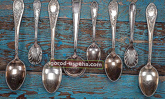 Očistite srebrninu prirodnim proizvodima