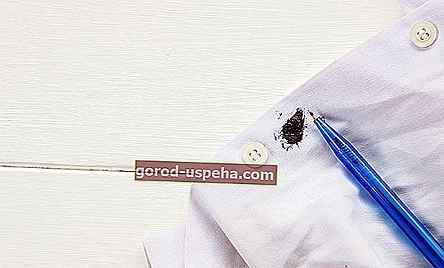 12 bakinih savjeta za uklanjanje mrlja od tinte