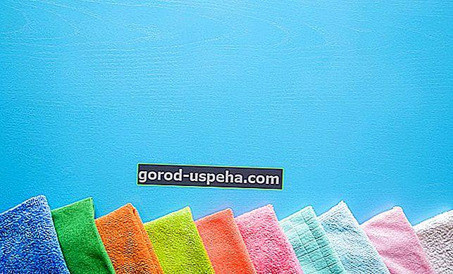 Napravite si perive maramice za čišćenje