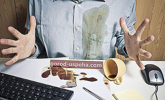 9 bakinih savjeta za čišćenje mrlje od kave