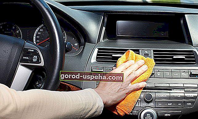 Почистете интериора на колата си с естествени продукти