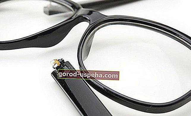 4 savjeta za popravak sljepoočnika naočala