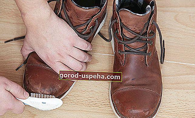 Dobro pazite na svoje nubuk cipele i pribor