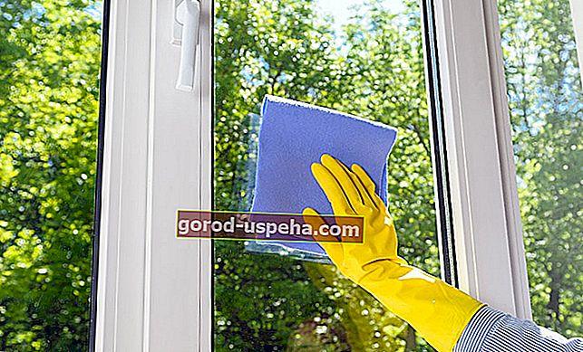 Как да премахнете лепилото от прозорец?