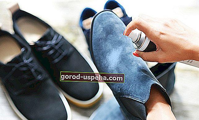 Как да се грижим за велурените си обувки?
