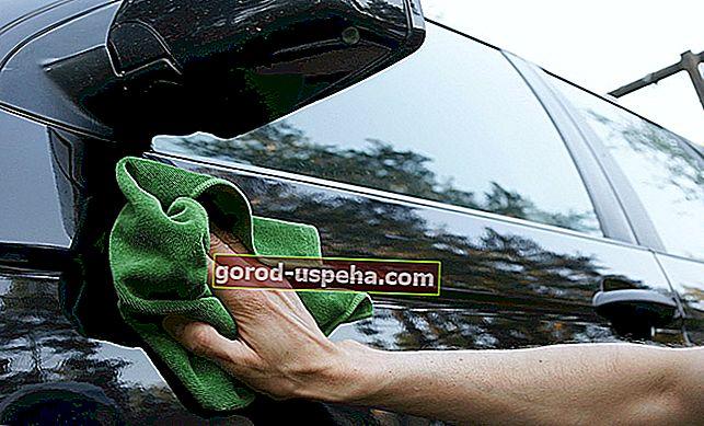 Bir arabadan ağaç reçinesi nasıl temizlenir?