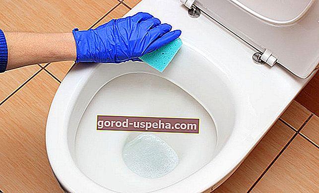 Как почистить унитаз с накипью?